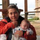 Mami in Marcel. Olib, september 2007.