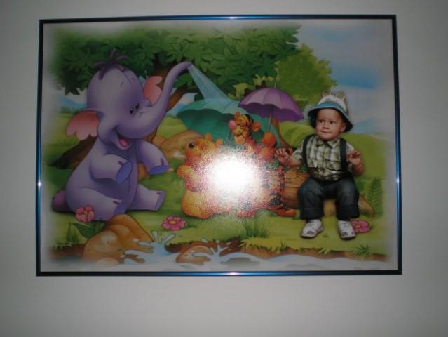 Galova slika za 1 rojstni dan od mamice in atija