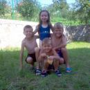 Lejla,Emir ,Bajro i Edin Kevric