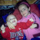 Lejla sa malim Muharemom trenutno najmladijem u nasoj familiji