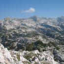 Čelo, Plaski Vogel, Lepa Špica, pogled z vrha Kala