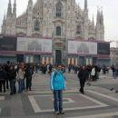 Sedmič v Milano, prvič na Piazza Duomo. Se vidi, da nisem bila tam službeno