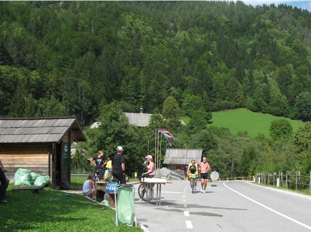 Vstop v Logarsko dolino