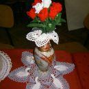 kvačkane rože
