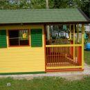 hiška od strani